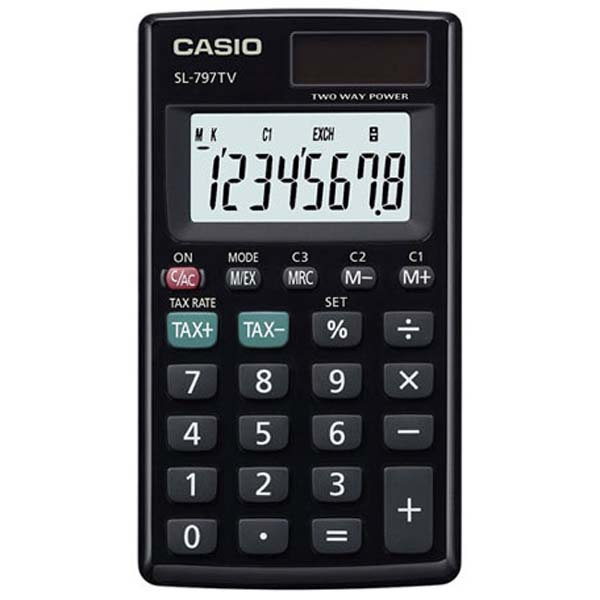 how to set a basic canon calculator