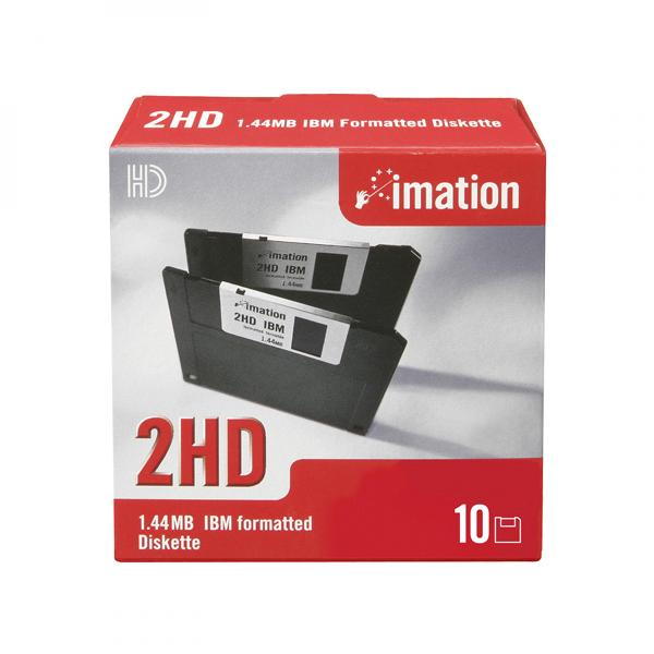100 Floppy Disks DS//HD New IBM Formatted Diskettes 1.44 MB Color Gray