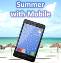Summer with mobile
